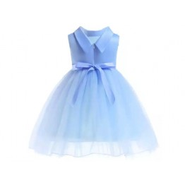 Baby Blue Tulle Dress