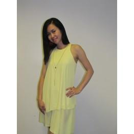Atmosphere Sleeveless Chiffon Dress