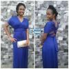 Blue Maxi Convertible Dress