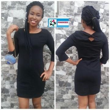 Debenhams black dress