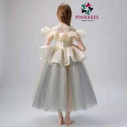 Princess Fome Cold Shoulders Party Dress