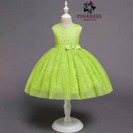 Ujiro Lemon and Silver Party Dress