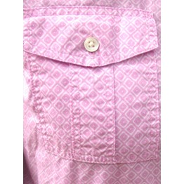 LANDS' END PINK SHIRT