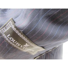 LOUIS VUITTON TINY MULTICOLOR STRIPES SLIM FIT SUIT