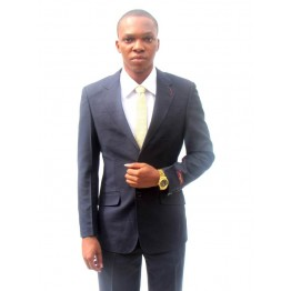 VENYBECCATO PARIS PLAIN NAVY SLIMFIT SUIT