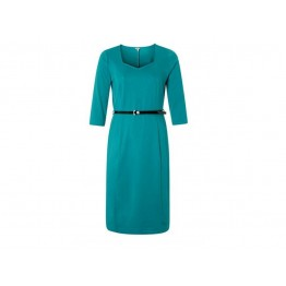Rogers Green Belted Dress